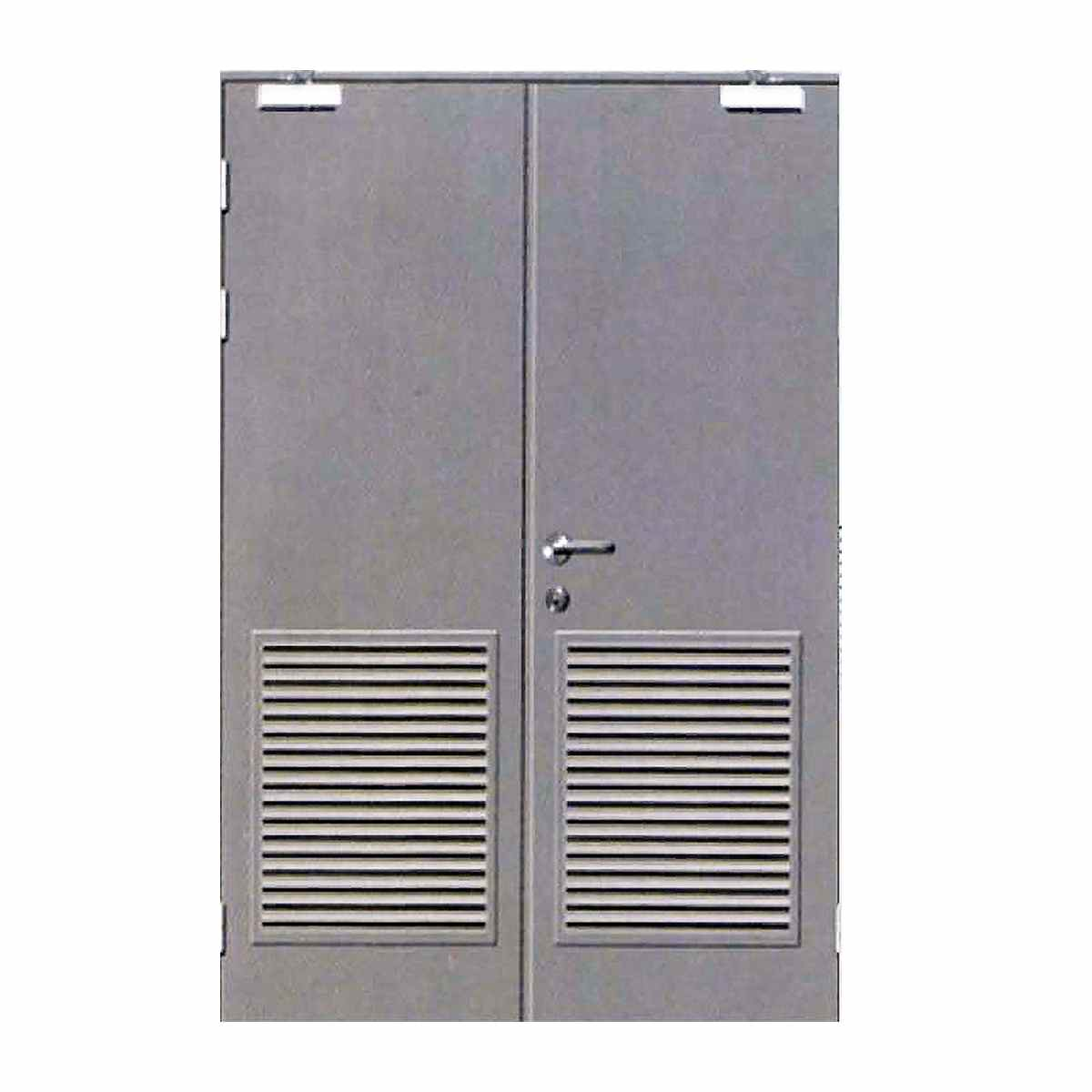 INDUSTRIAL DOORS WITH LOUVERS